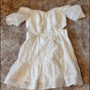 Ever New white dress
